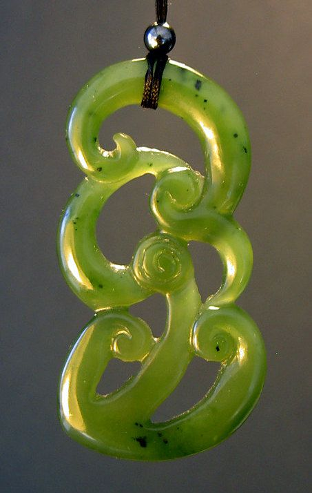 81 best bone greenstone nz images on pinterest maori art bone triple koru pendant nz greenstone pounamu by carterzdesign on etsy mozeypictures Choice Image
