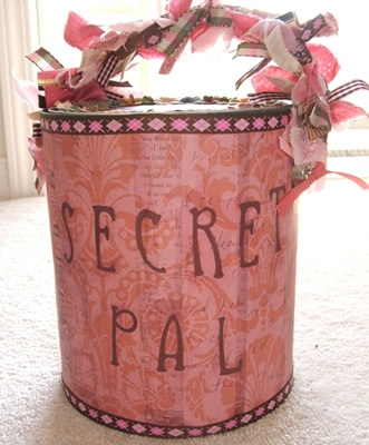50 best secret pal images on pinterest boxes candies and secret pal pail negle Gallery
