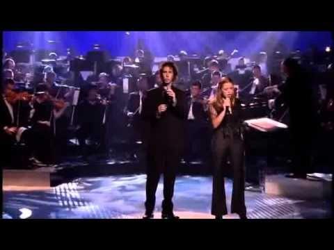 Josh Groban & Charlotte Church - The Prayer [Live] - YouTube