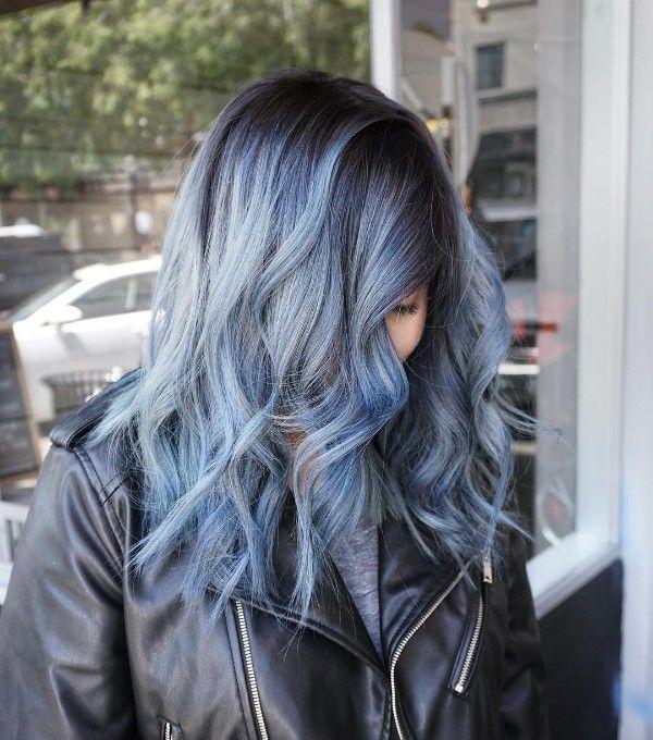 Best 25+ Blue Gray Hair Ideas On Pinterest