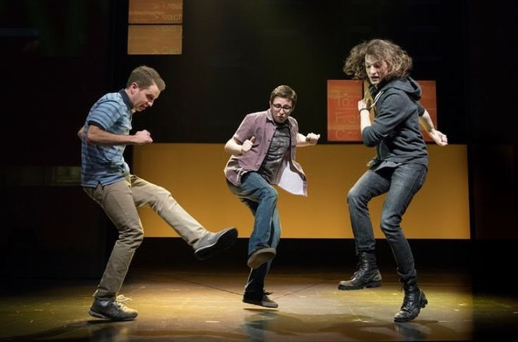 Dear Evan Hansen Sincerely, Me Honestly, Connor's hair is a work of art in this picture...