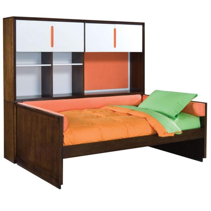Amazing Full Size Daybed And Double Beds With Green Cushions
