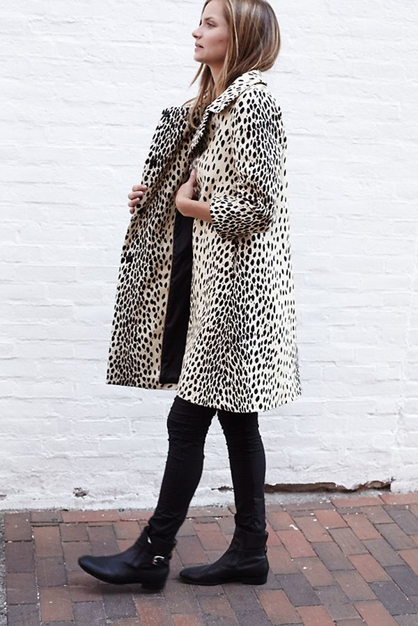 A STYLISH LEOPARD PRINT COAT BY EMERSON FRY | THE STYLE FILES