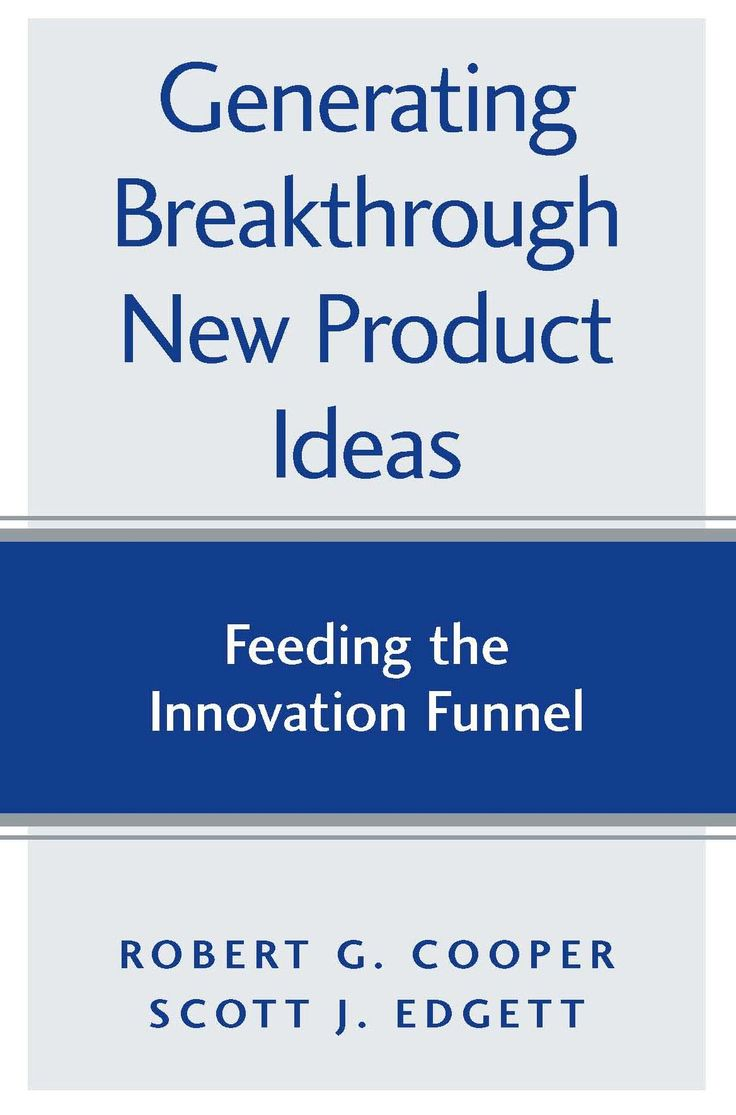 Companies are experiencing a shortage of game-changing ideas that drive growth. This is a 'how to' book about generating a steady stream of breakthrough new product ideas.