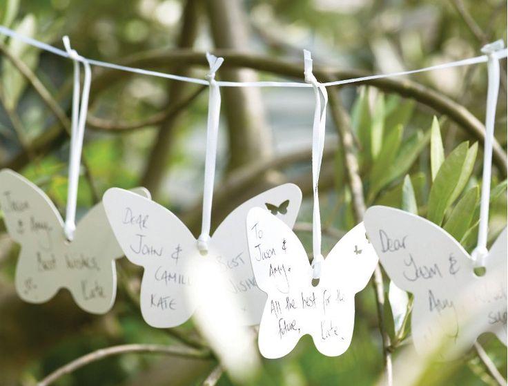 Girlande Gäste Hochzeit Glückwünsche