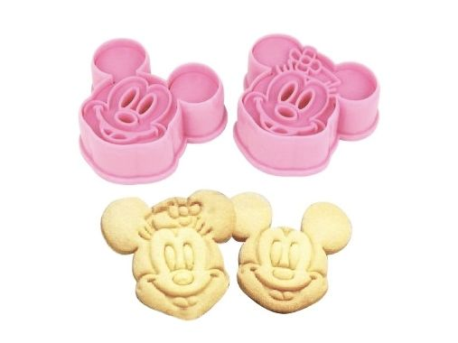 Mickey Mouse & Minnie Mouse cookie cutter   HuupHuup.nl