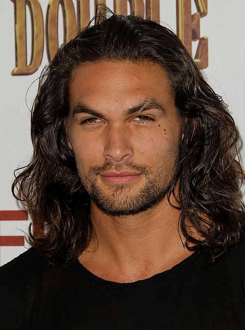Jason Momoa - never seen him before... chris hemsworth has some competition