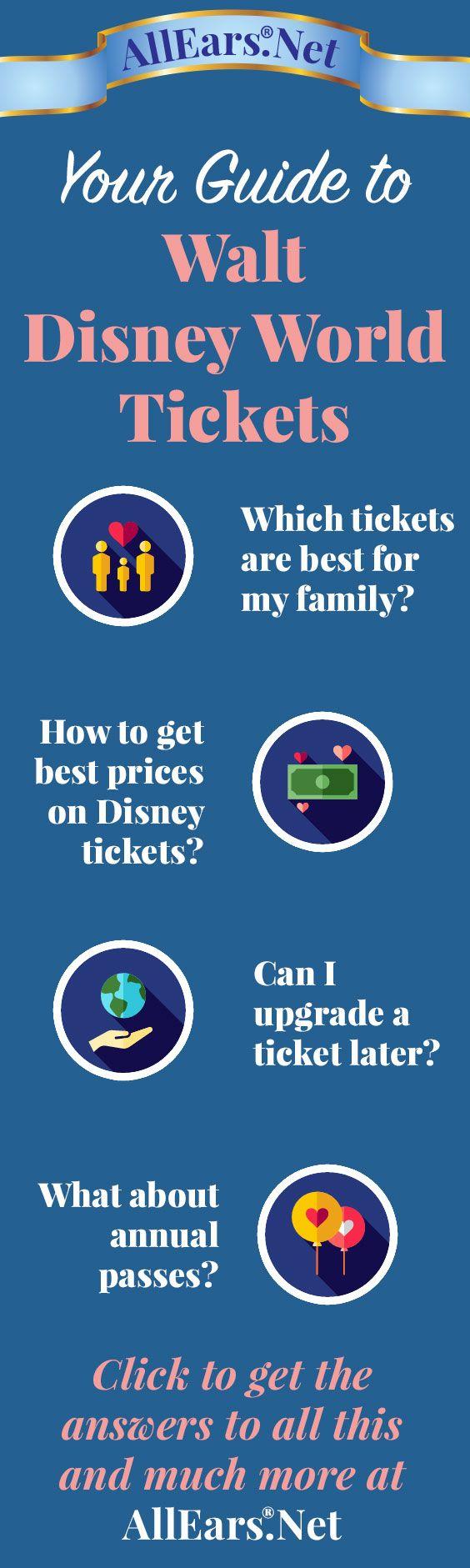Your Guide to Walt Disney World Tickets   AllEars.net   AllEars.net