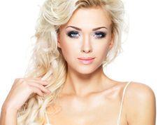 Líčení modrých očí pro blondýny