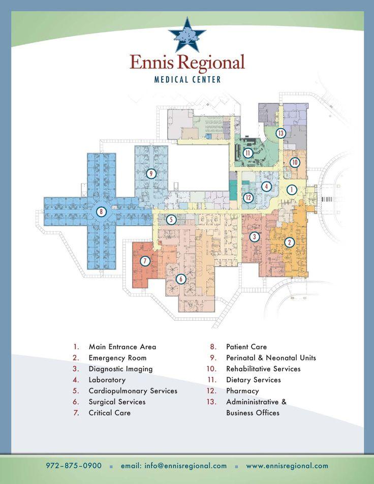 Hospital Floorplan Ennis Regional Medical Center