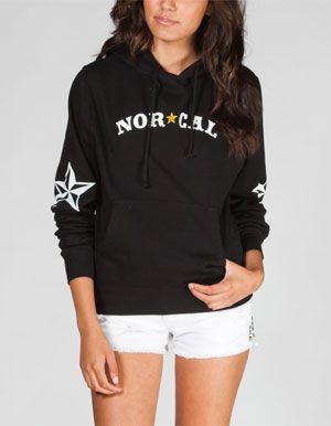 NOR CAL Nautical Womens Hoodie