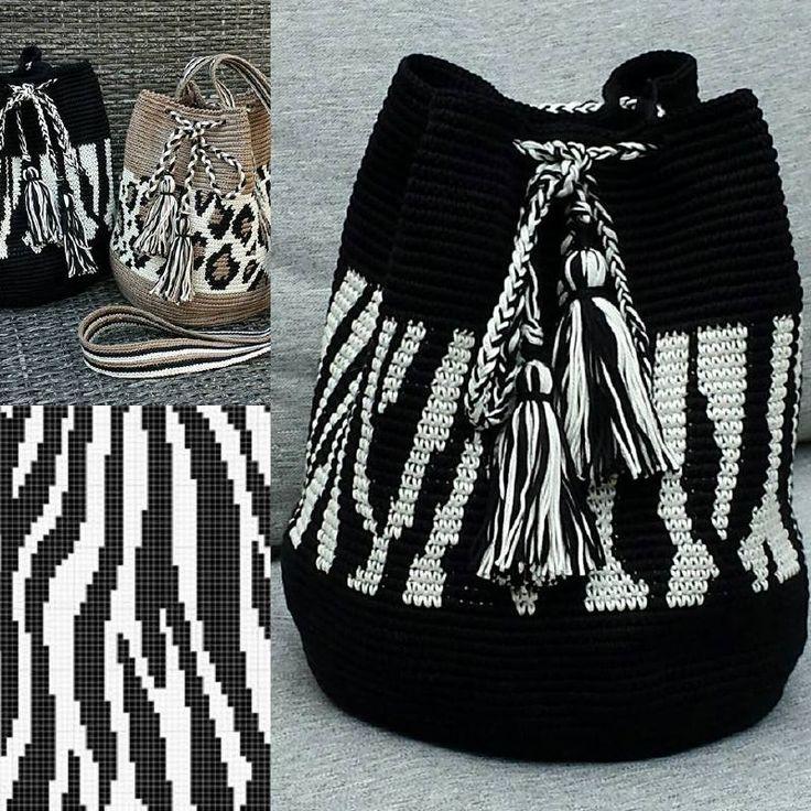 Zebra Mochilla Bag
