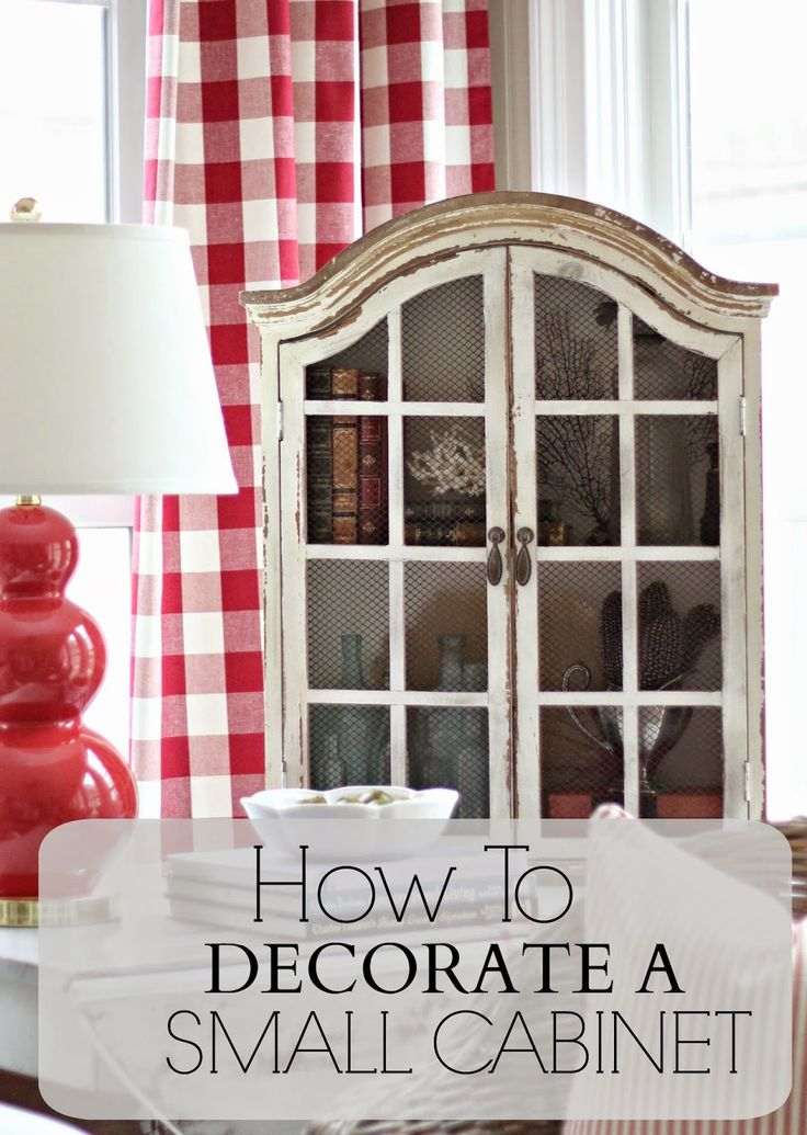 Savvy Southern Style: Decor Steals Design Ingenuity Event.....Chippy Cabinet #bHomeApp