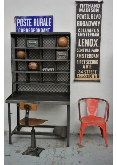 1000 id es sur le th me meuble de metier sur pinterest - Mobili industriali vintage ...