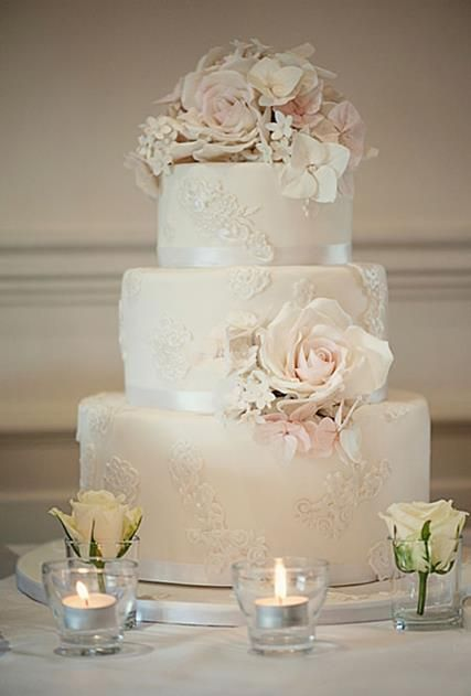 Wedding Cakes #laceweddingcakes