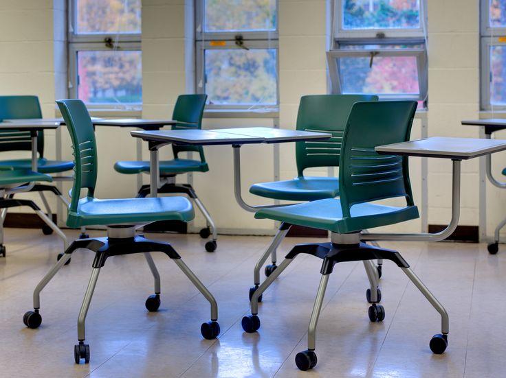 KI Recently Had A Beautiful education furniture Installation At Michigan State University