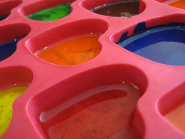 microwave heart crayons (birthday treat for school!)