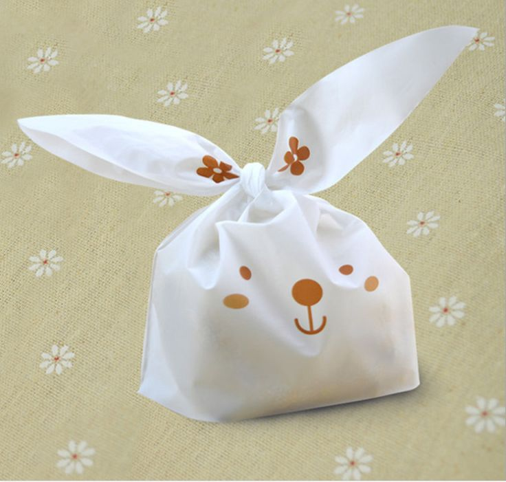 Cheap bag trimmings, Buy Quality bag sale directly from China bag kitty Suppliers:    20pcs/lot  cute rabbit ear cookie bags Self-adhesive Plastic Bags for Biscuits Snack Baking Package food bag