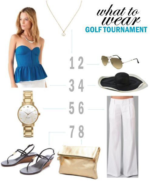 What to Wear: Golf Tournament Looks for Women