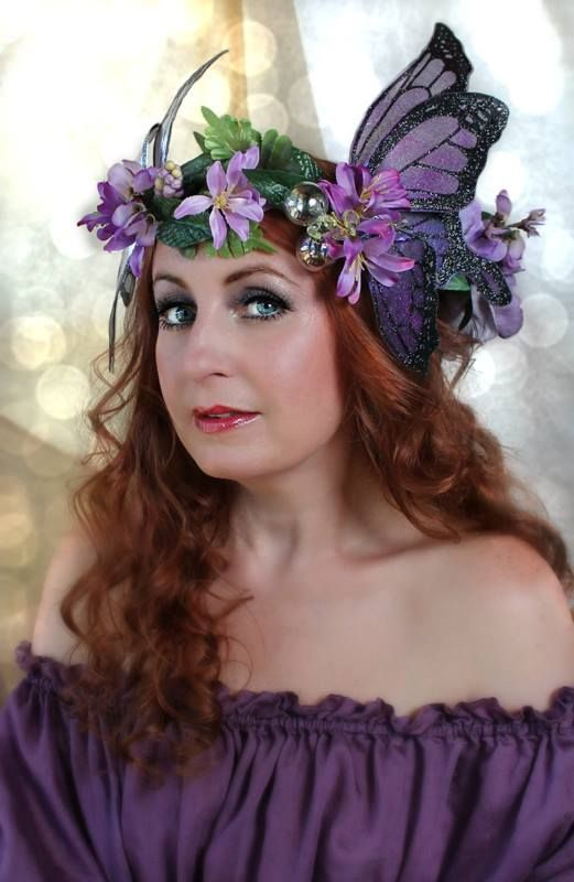 the inaugural fairy headdress from on gossamer wings the