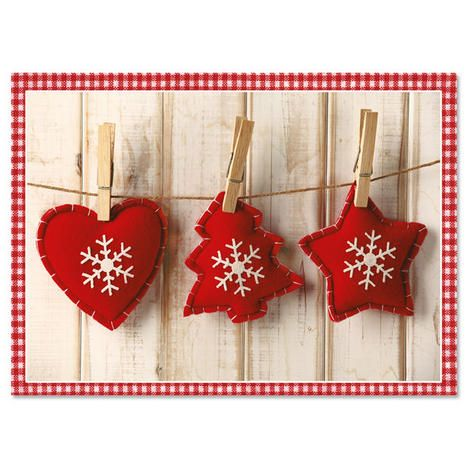 Felt OrnamentsStandard Christmas Cards $7.99           Now: $3.99  Cards by Current
