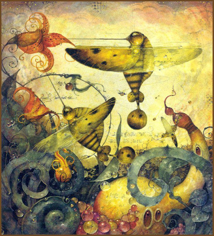 HUMMINGBEES BY DANIEL MERRIAM