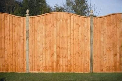 WAVE TOP CLOSEBOARD FENCE PANEL 1828 X 1525 (352179)