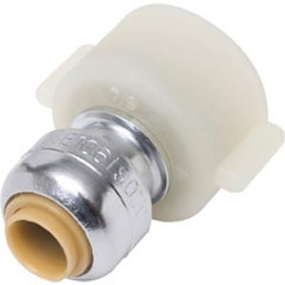 SharkBite - 1/4 Inch X 1/2 Inch Faucet Connector - U3525A - Home Depot Canada