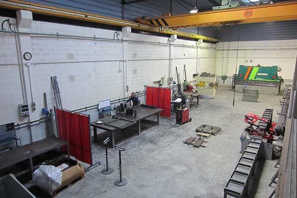 Taller de herrería y calderería. Especialistas en hierro, acero y aluminio.