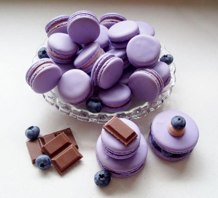 Milka Chocolade macarons