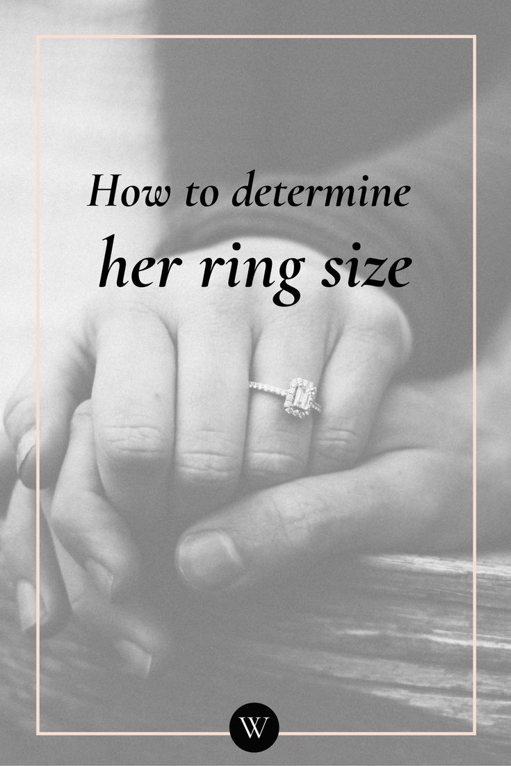 Most men find it challenging to be discreet to maintain the element of surprise in the lead-up to the proposal. Getting her ring size right is one of the challenges. There are a few ways you can get her ring size without her knowing. Click to read more.
