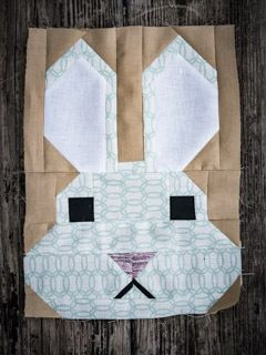 Bunny Block / Fancy Forest Quilt