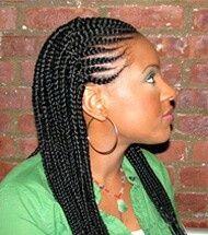 Ghana Braids Double Braided Hairstyles Natural Hair