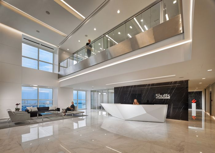 Mejores 404 imgenes de places spaces en pinterest muebles de miami offices shutts bowen asdsky designed the offices of law firm shutts bowen in miami this is a new workplace covering some 60000 square feet malvernweather Choice Image