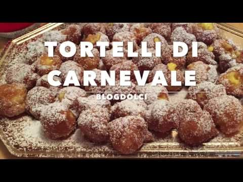 La ricetta per i tortelli di carnevale - Ricetta semplice e veloce - YouTube
