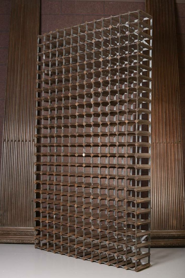 HUGE '40s wine rack - from DC member Miles Griffiths