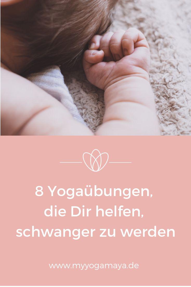 Diese 8 Yoga Übungen helfen Dir, schwanger zu werden