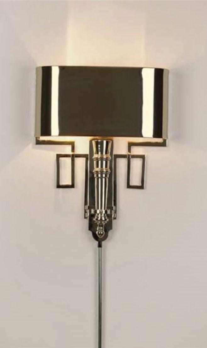 Art Deco Torch Sconce