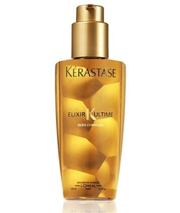 Kerastase Elixir Ultime use so hair will be very silky and shiny!  This stuff is awesome!!!! Smells great too. I highly recommend it to all:)