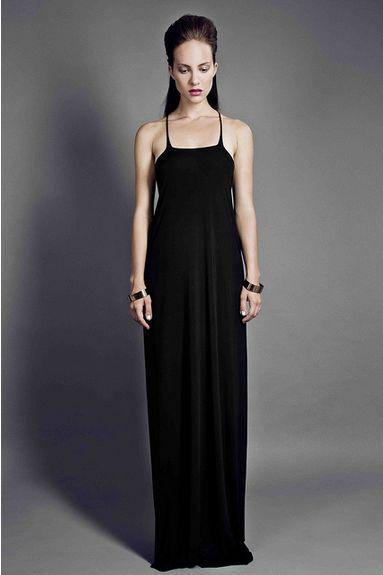 HER - dress with shoulder straps