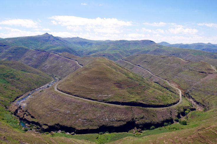 Near Mohale Dam in Lesotho.