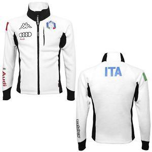 Kappa Fleece Sweater 6CENTO 687 FISI Jacket Winter sports National Italy Man | eBay