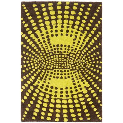 Safavieh Soho Brown / Dark Green Contemporary Rug Rug Size: Scatter / Novelty Shape 2' x 3'