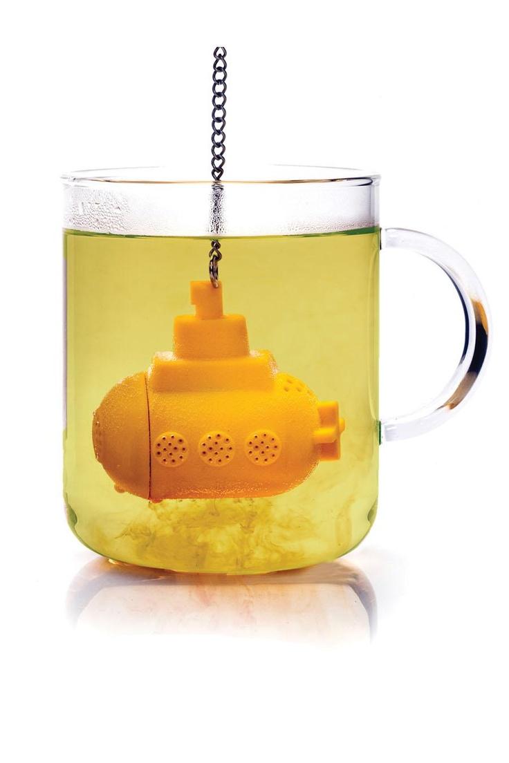 TeaSub Tea Infuser - a MUST for the tea drinking Beatles fan!!
