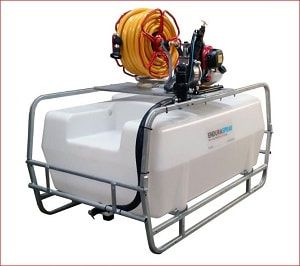 300 litres motorised water bowser, available with an optional pump mounting plate which enables the fitting of different pumps and other add-on for easy watering of large gardens, hanging baskets, orchards, vegetable plots and more. For more info contact us at: http://www.fresh-group.com/waterers-and-bowsers.html