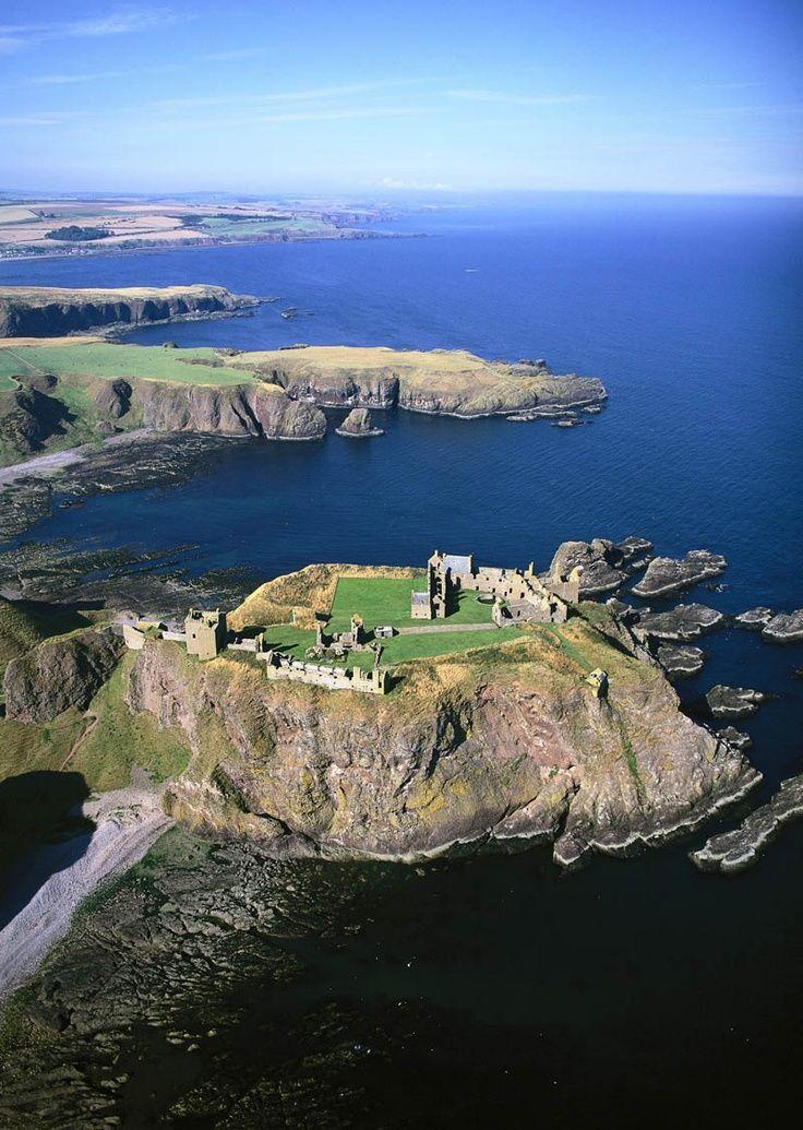 Dunnottar Castle, Aberdeen, Scotland, UK