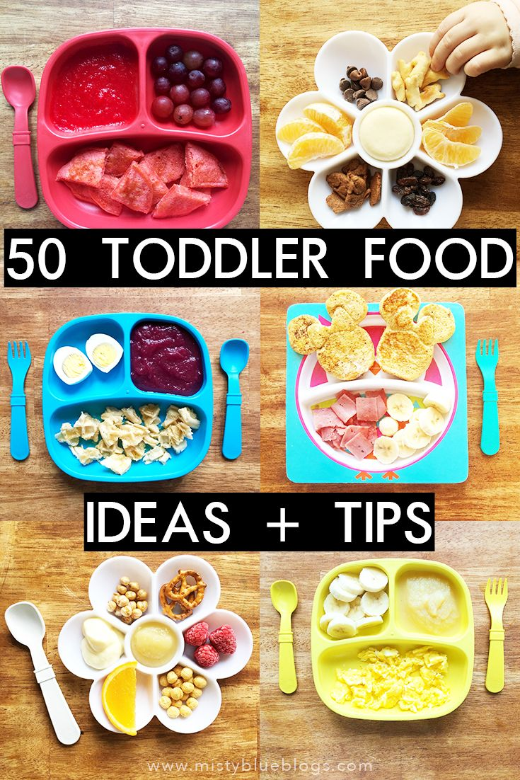 50 Toddler Food Ideas and Tips to help inspire you and give you some new ideas for a hassle-free meal time!