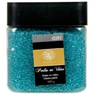 perles dco bleu turquoise dco mariage baptme objet de dco dcoration - Gifi Mariage