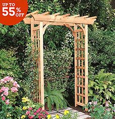 Its time to spruce up your garden for summer! All eyes will be on your azaleas with this selection of charming arbors, planters, and more. Victorian-style fountains and hardwood bird houses invite winged friends, while metal benches and bistro sets offer you a place to sit back and take in the scenery.