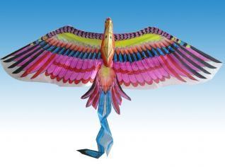 cometa con forma de ave
